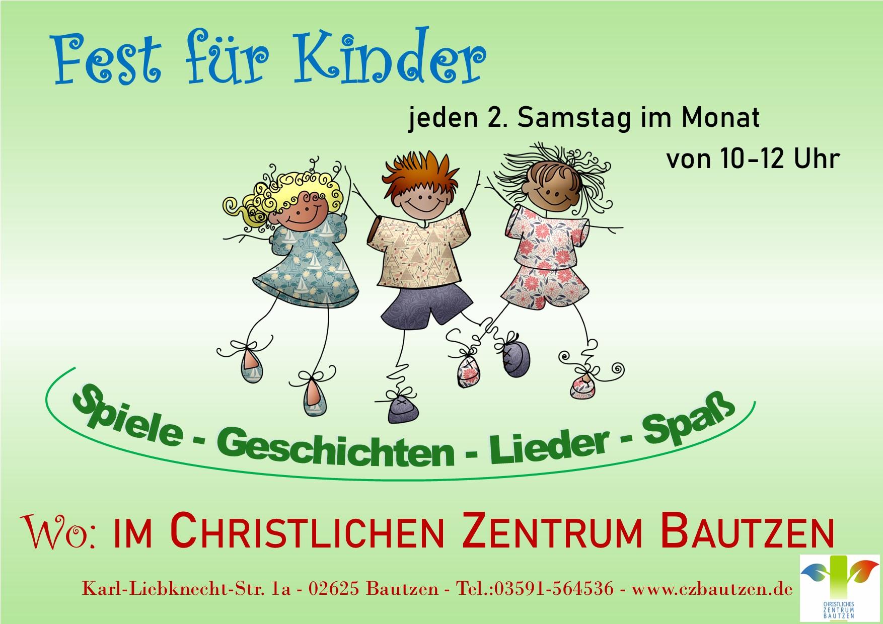 Samstag Kindervormittag